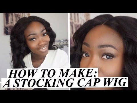 How To Make: A Stocking Cap Wig( No Closure Included) | DIY