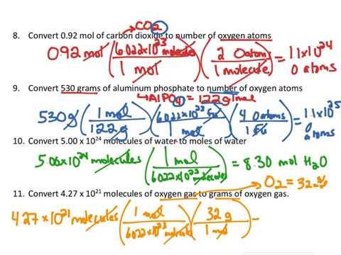 Converting between mass (grams), moles, molecules and atoms