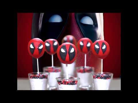 Deadpool Cake Pops |  Deadpool Cake Pops Recipe