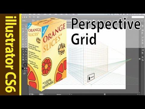 illustrator CS6 perspective grid tutorial - draw a macbook air!