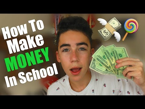The BEST Ways To Make Money In School