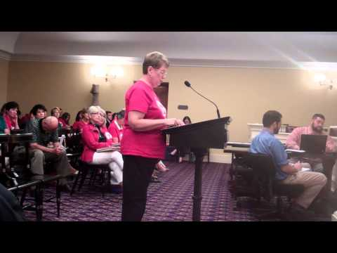 Nancy Capps on Common Core Repeal