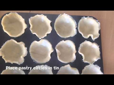 How to make simple jam tarts