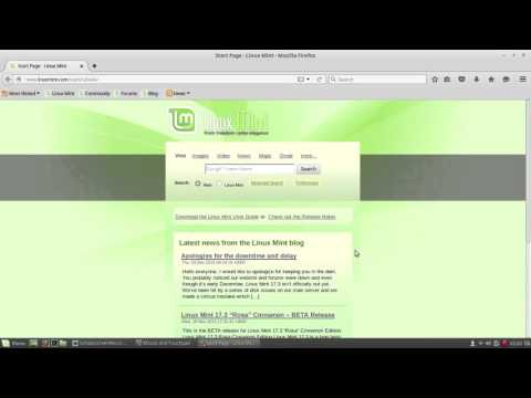 Mouse and Trackpad Settings in Linux Mint and how to enable multi touch