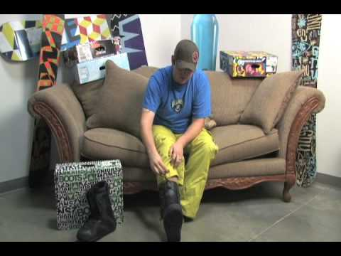 Snowboard Boot Lacing Guide - K2 Fast In