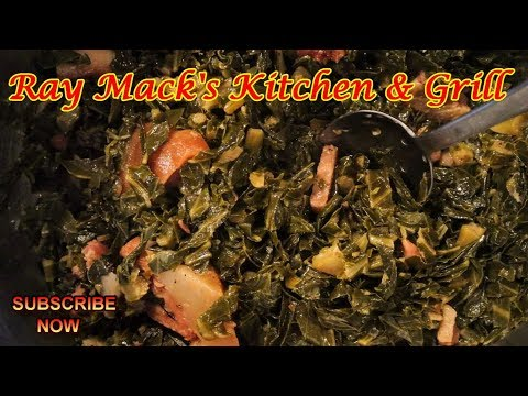 Southern Style Greens: Soulfood 101