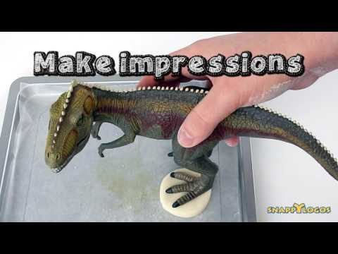 Salt Dough Dino Fossil