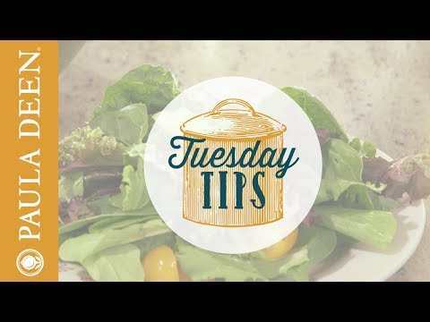 How to make a simple vinaigrette - Tuesday Tips