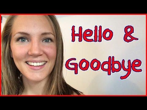 Norwegian Language: Basic Hello & Goodbye