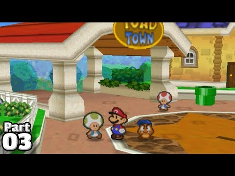 Paper Mario, Part 03: Bringing It Down To Toad Town!