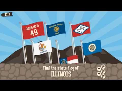 Geography Drive Arcade - Learn the Capitals, Flags and State Shapes of the USA