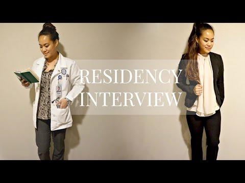 Sub-Internship | RESIDENCY INTERVIEW