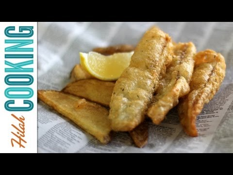 How To Make Fish and Chips | Hilah Cooking