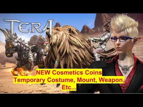 Tera Event: New Cosmetic Coins (Temporary Costume, Mount And More)