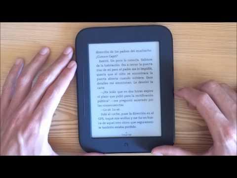 Nook Simple Touch en español - Parte 1
