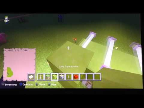 How to make a foosball table- Minecraft