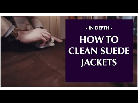 How to look after suede jackets
