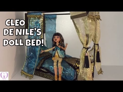 Here's My MONSTER HIGH CLEO DE NILE BED