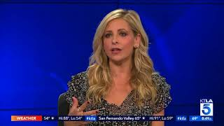 Sarah Michelle Gellar Stirs up our Appetites on KTLA