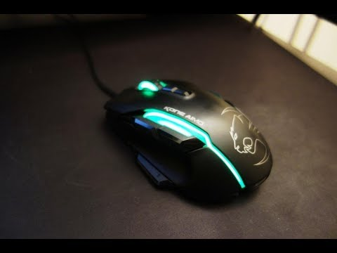 ROCCAT Kone AIMO review - An impressive MOBA gaming mouse - By TotallydubbedHD