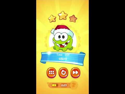 Cut the Rope 2 ~ 1-11 Forest, 3Stars, Medal (2Stars, 3Seconds)