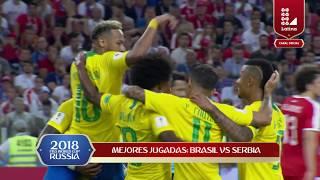 HIGHLIGHTS  SERBIA VS BRASIL