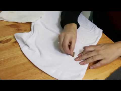How to get a coffee stain out of fabric!