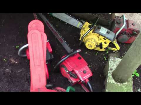 Firewood & Effect On Chainsaw Development, A Discussion ( A reason to hack around w/ old saws! )