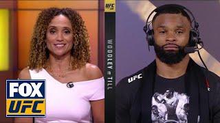 Tyron Woodley talks to UFC on FOX | POST-FIGHT | UFC 228