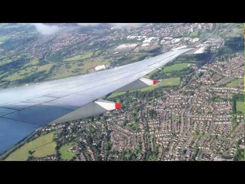 Singapore Airlines | Boeing 777-300ER | Take off @ Manchester, UK