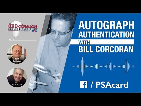 Audio: Bill Corcoran, PSA/DNA Authenticator, talks the hobby on the Great American Collectibles Show