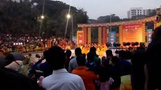 বসন্ত উৎসব 2018 Dhanmondi lake(Rabindra Sorobor)