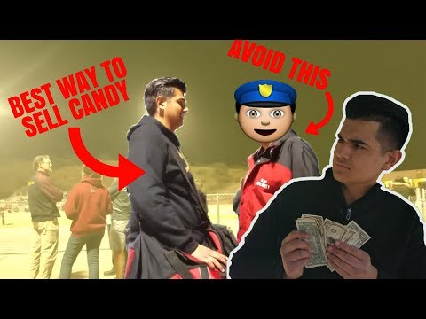 How To Sell Candy At School!!! **BEST METHOD** (Not how you expect...)