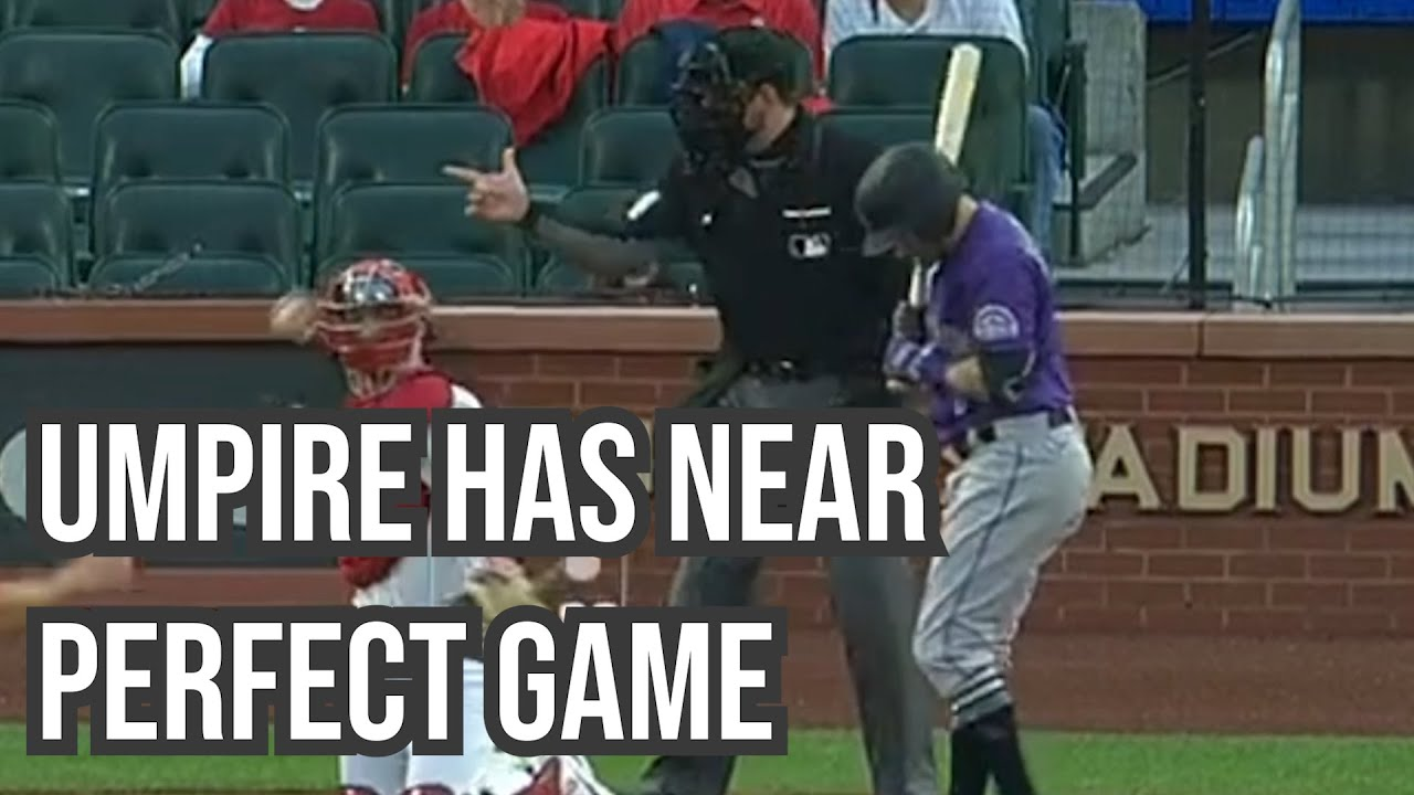 Umpire has near perfect game behind the plate, a breakdown