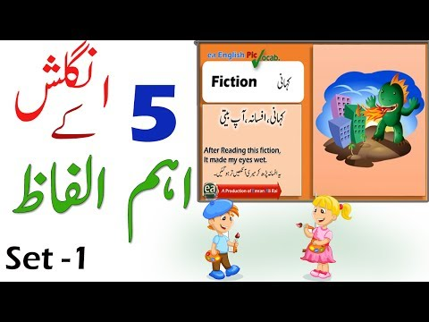 Most Important English Vocabulary Words With Meaning in Urdu Hindi