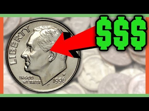 RARE DIMES WORTH MONEY - COINS TO LOOK FOR IN POCKET CHANGE!!