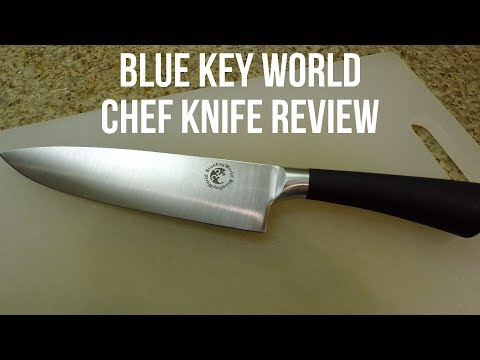 Blue Key World Chef Knife Review