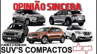 Download Comparativo SUV compactos: lado bom e ruim, características, preços, vantagens, problemas... Video