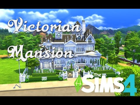 THE SIMS 4 - Speed Build || VICTORIAN MANSION