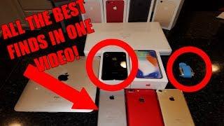 Found iPhone X, iPhone 7