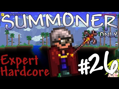 Terraria Expert Hardcore Summoner Only #26