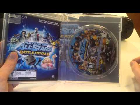 Cross-Buy Playstation All-Stars Battle Royale Unboxing