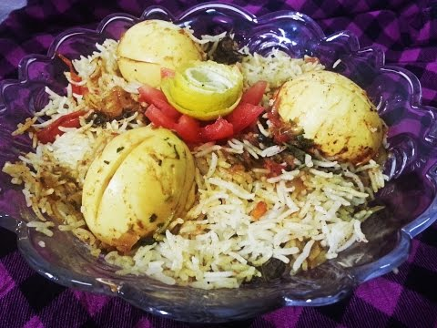 Malabar Egg biryani