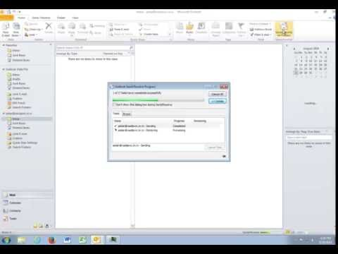 Microsoft Outlook 2010 - Dodavanje novog naloga