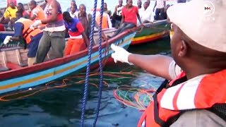 Rescue mission attempts to save bodies from Tanzania's sinking ferry