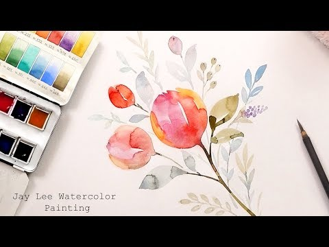 Learn to paint watercolor for beginners with Jay Lee