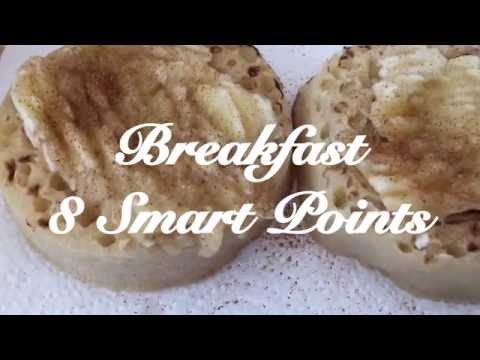 What I eat in a day on 30 Smart Points | Weight Watchers Plan