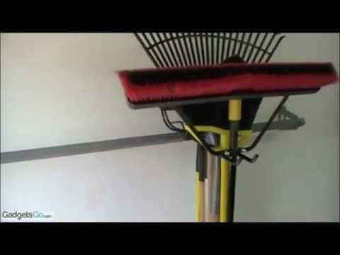 Monkey Bars Yard Tool Rack System