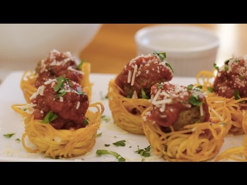 How to Make Spaghetti and Meatballs Muffin - Appetizer Recipes
