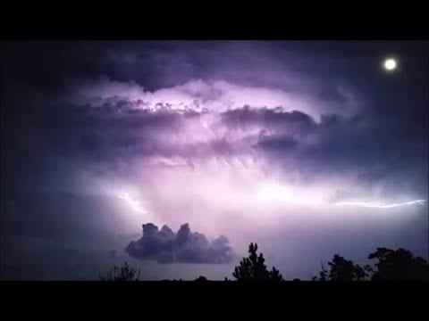 Lightning at Night - Summer Storm Front